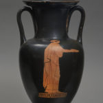 An Attic Red-Figure Nolan Amphora, attributed to the Sabouroff Painter
