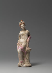 A Terracotta Figure of a Woman