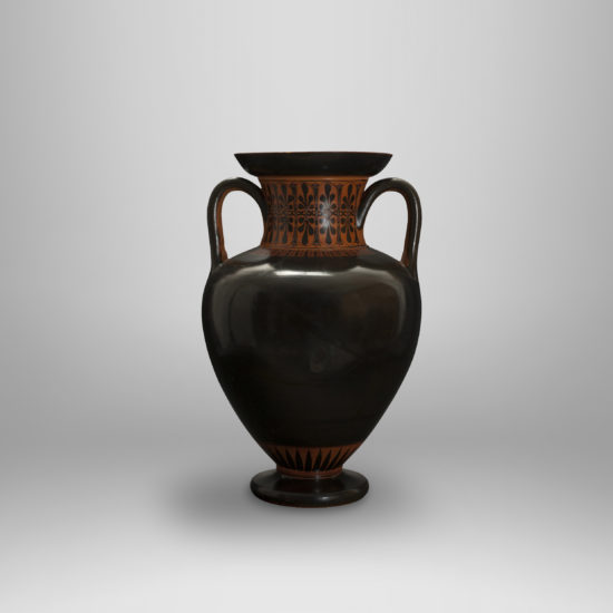 An Attic Black-Glazed Amphora