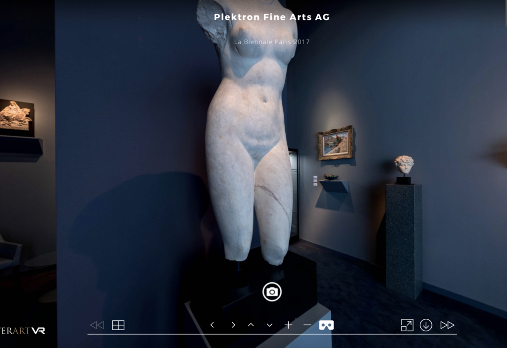 Virtual Tour La Biennale Paris 2017