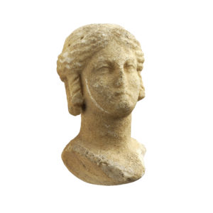 A Greek Marble Bust of a Ptolemaic Queen as Isis