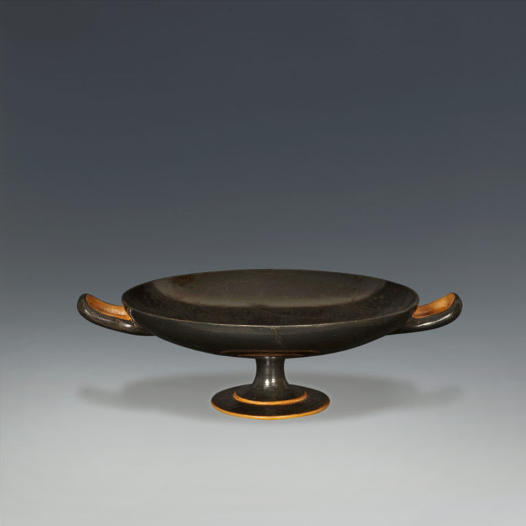 An Attic Black-Glazed Kylix