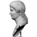 A Roman Marble Portrait Bust of an Aristocratic Lady, possibly Domitilla the Elder