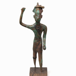 A Bronze Statuette of the God Herakles Melqart