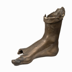 A Bronze Right Foot