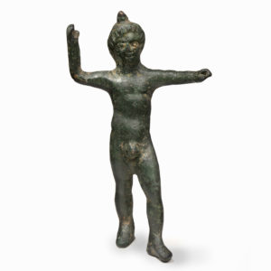 A Bronze Figure of a Youth